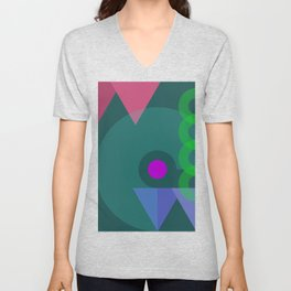 On With the Show! Unisex V-Neck