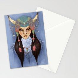 Mongolian Princess Stationery Cards