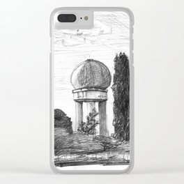 Airport Ruin Clear iPhone Case
