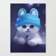 Yang The Cat Canvas Print