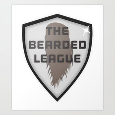 The Bearded League Art Print