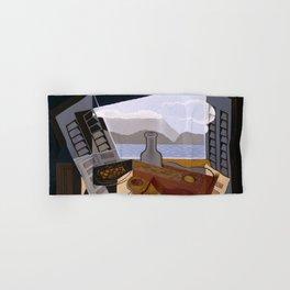 """Juan Gris """"The Open Window"""" Hand & Bath Towel"""