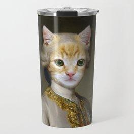 The Cat Duke Travel Mug