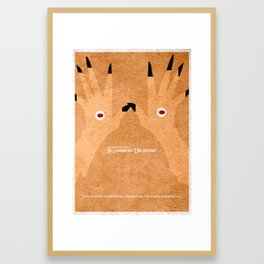 El laberinto del fauno Framed Art Print