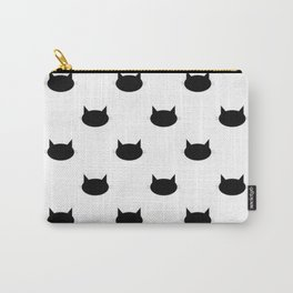 Kitten Pattern Carry-All Pouch