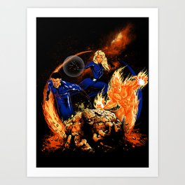 The Powers of Four Art Print