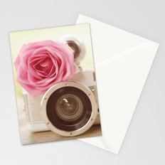 Rose Fisheye  Stationery Cards