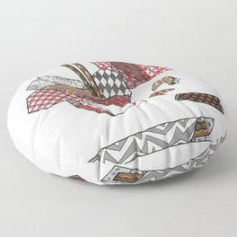 Chinese Take Out Floor Pillow