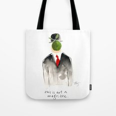 this is not a magritte Tote Bag