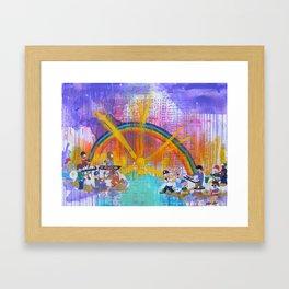 YBB + Gunpoets Play in Heaven Framed Art Print