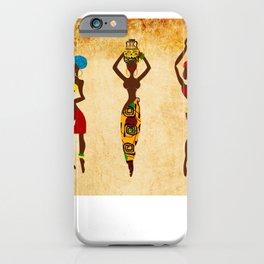 Dancing african women  iPhone Case