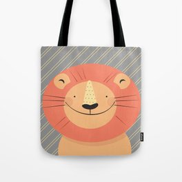 Cute Lion Tote Bag