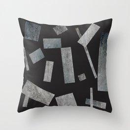 béton brut Throw Pillow