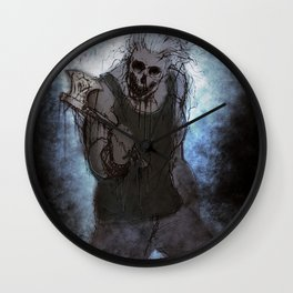 Death The Killer Wall Clock