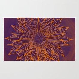 Summer Lovin' Sunflower Rug