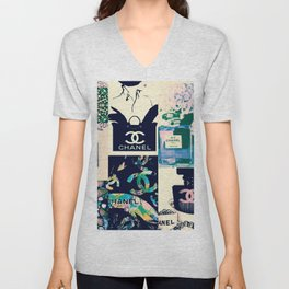 CC No.5 Fashion Collage Unisex V-Neck