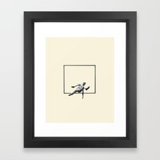 Hurdle (Rectangle) Framed Art Print
