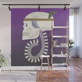 Indie G skull Wall Mural