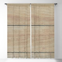 Lets Catch Cabin Fever Blackout Curtain