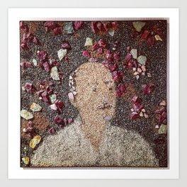 Stone Art Man Art Print