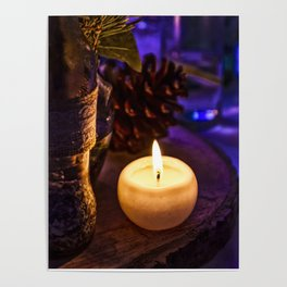 Candle Alone Poster
