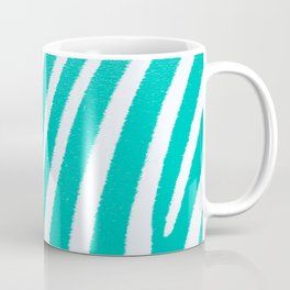 Teal Zebra Coffee Mug