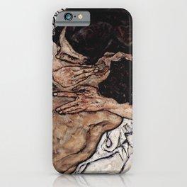 Egon Schiele - Lovers II iPhone Case