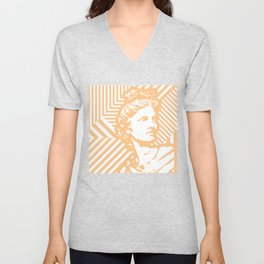 Gods Geometric - Apollo Unisex V-Neck