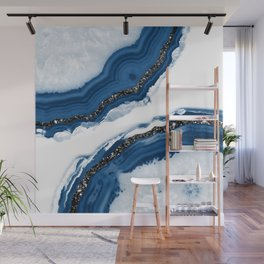 Agate Glitter Glam #14 #gem #decor #art #society6 Wall Mural