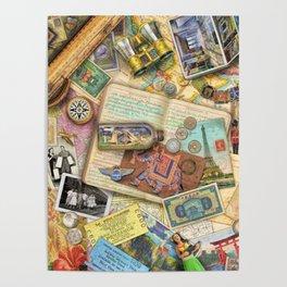 Vintage World Traveler Poster