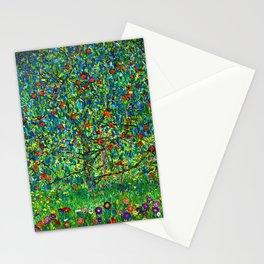 """Gustav Klimt """"Apple tree"""" I Stationery Cards"""