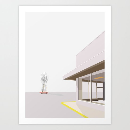 KRIMINALSAGER No.02 Art Print