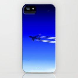 Jet Heading Home iPhone Case