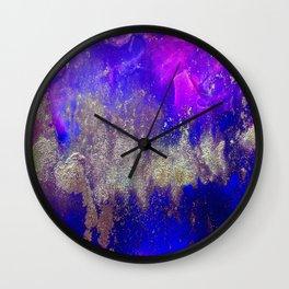Galaxy Skyline Wall Clock