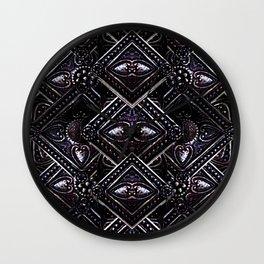 Luxury Jewels Pattern Wall Clock