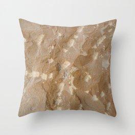Chisel shot Throw Pillow