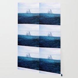 Sailing Ship on the Sea Wallpaper