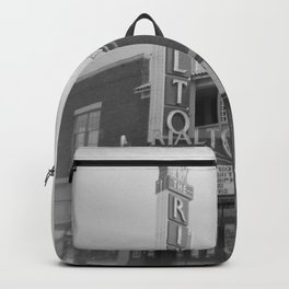 Vintage Neon Sign - The Rialto Theater - Tucson Arizona Backpack