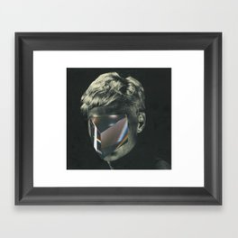 Clearly Or Darkly? Framed Art Print