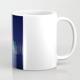 Miami Skyline Abstract Coffee Mug