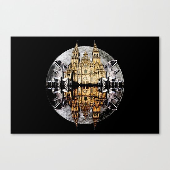 Crystals, Castles, and Moons Canvas Print