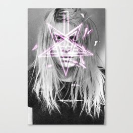 Unholy in Pink Canvas Print
