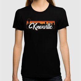 Vintage Knoxville Tennessee Sunset Skyline T-Shirt T-shirt
