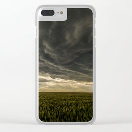 Stormscape 2 Clear iPhone Case