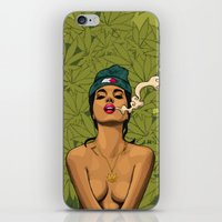 mcfreshcreates iPhone & iPod Skins featuring Smokers Choice by McfreshCreates