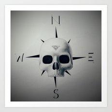 Dead Compass Art Print