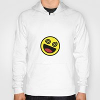 emoji Hoodies featuring Drunk Emoji by Birds & Kings