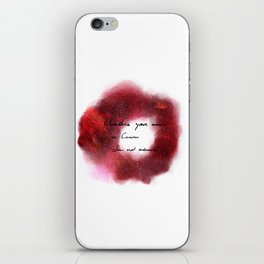 Unless your name is Cassian iPhone Skin