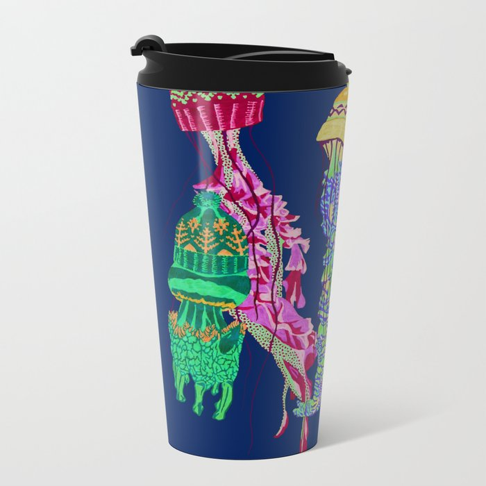 Cool Jellyfish 2 Travel Mug