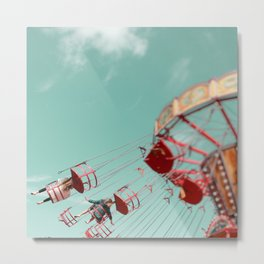 Fun Of The Fairground Metal Print